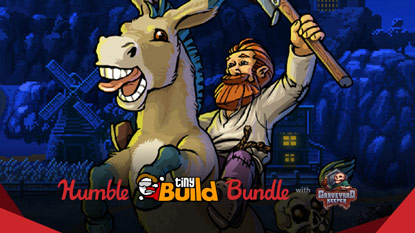 Itt a Humble tinyBuild Bundle cover