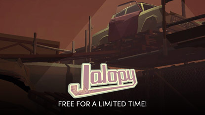 Jalopy is currently free on PC