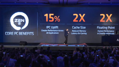 Computex 2019: az AMD leleplezte a 3. generációs Ryzen CPU-kat