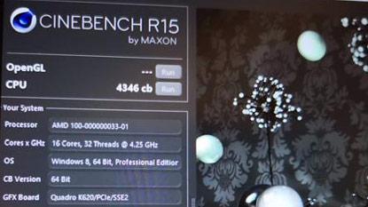 Feltűnt egy 16 magos Ryzen CPU Cinebench R15 benchmarkja
