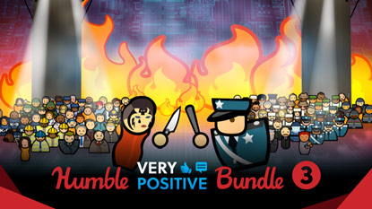Humble Very Positive Bundle 3 is now live