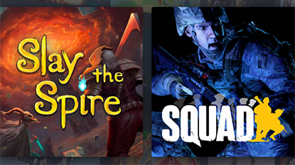 Get Slay the Spire and Squad in September's Humble Monthly