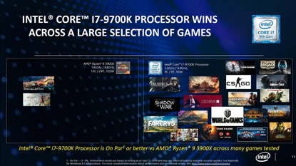 Az Intel szerint még mindig az Intel CPU-k a legjobbak