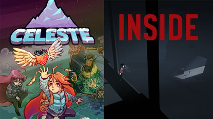 Celeste and Inside are currently free on PC cover