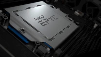 Az AMD bemutatott egy új 64 magos EPYC CPU-t