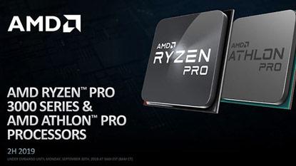 Az AMD bejelentette a Ryzen Pro 3000 szériás processzorokat