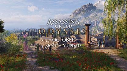 Egyéves az Assassin's Creed Odyssey, még egy frissítés várható