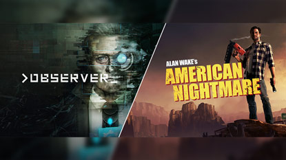 Alan Wake's American Nightmare and Observer are currently free on PC