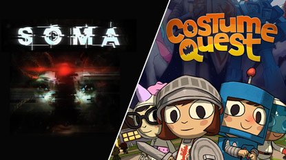 SOMA and Costume Quest are currently free on PC cover