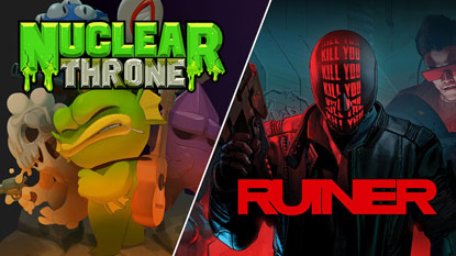 Nuclear Throne and RUINER are free for a limited time