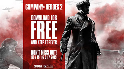 Company of Heroes 2 is free right now