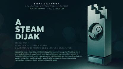 Elrajtolt a Steam őszi vásár és az idei Steam Díjak