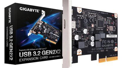 USB 3.2 PCIe kártyát készített a Gigabyte