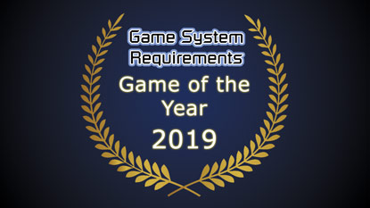 GSR: Game of the Year Award 2019