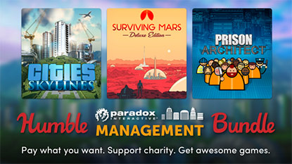Itt a Humble Paradox Management Bundle