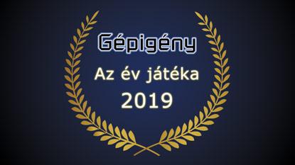 Gépigény.hu: Az év játéka díj 2019 szavazás eredménye