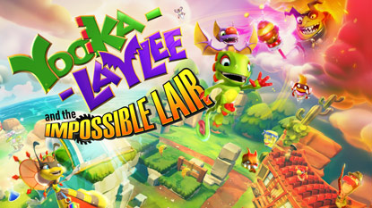 Yooka-Laylee and the Impossible Lair is free right now cover