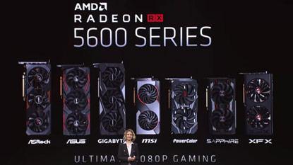 Az AMD leleplezte a Radeon RX 5600 XT, RX 5700M és RX 5600M GPU-kat