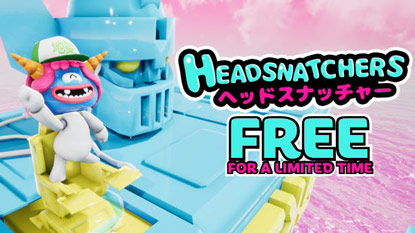 Ingyenesen beszerezhető a Headsnatchers