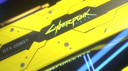 Cyberpunk 2077 témájú RTX 2080 Ti-t készített az Nvidia