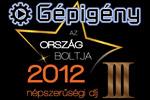 Ország boltja 2012 verseny 3. helyezés! Köszönjük! cover