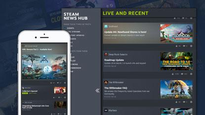 Steam Labor: tesztelhető a Hírközpont