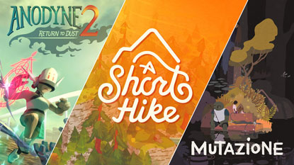 A Short Hike, Anodyne 2, and Mutazione are currently free on PC