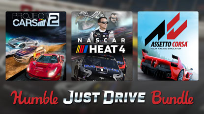 The Humble Just Drive Bundle is now live