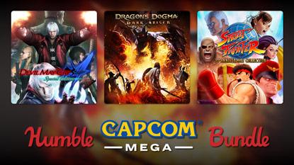 Humble Capcom MEGA Bundle live now cover