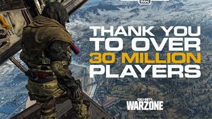 Újabb mérföldkőhöz ért a Call of Duty: Warzone