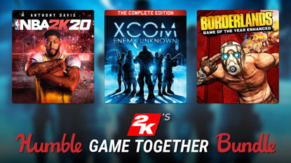 Humble 2K's Game Together Bundle is live cover