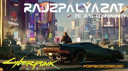 Cyberpunk 2077 rajzpályázatot hirdetett a PC RPG Közösség