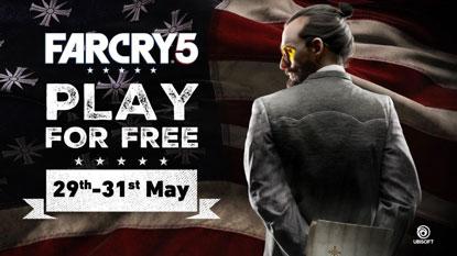 A hétvégén ingyenesen játszhattok a Far Cry 5-tel