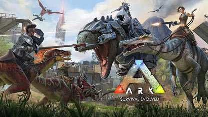 ARK: Survival Evolved is currently free on PC cover