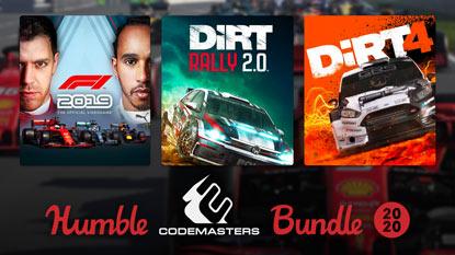 Itt a Humble Codemasters Bundle 2020