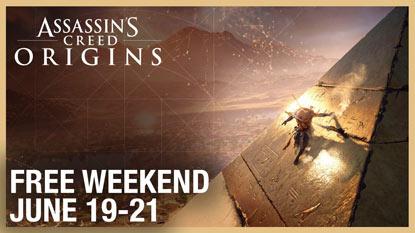 A hétvégén ingyenesen játszható lesz az Assassin's Creed Origins