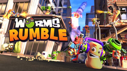 A Team17 bejelentette a Worms Rumble-t