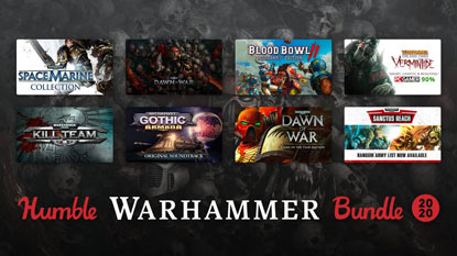 Itt a Humble Warhammer Bundle 2020