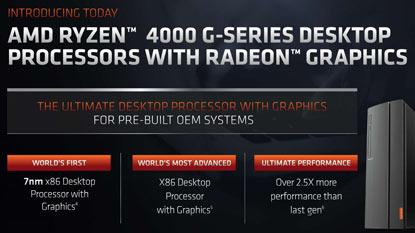 Megérkeztek az első asztali Ryzen 4000-es CPU-k