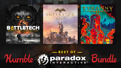 Humble Best of Paradox Interactive Bundle is live