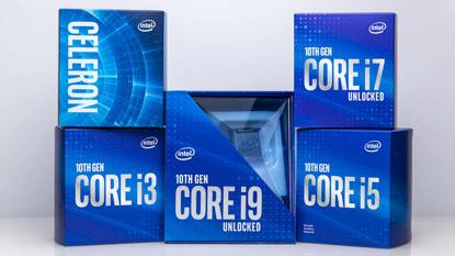 KA-szériás Comet Lake-S processzorokon dolgozhat az Intel