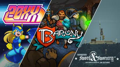 Ingyenesen beszerezhető a 20XX, a Barony és a Superbrothers: Sword & Sworcery EP