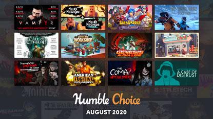 Vampyr és Call of Cthulhu az augusztusi Humble Choice-ban
