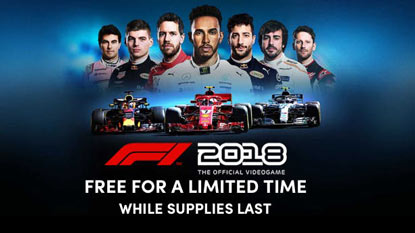 F1 2018 is currently available for free on PC