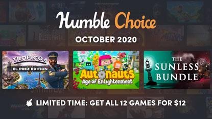 Tropico 6, Autonauts és Sunless Bundle az októberi Humble Choice-ban