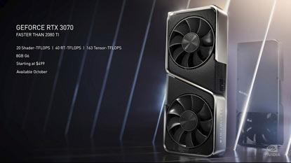 Az Nvidia elhalasztotta az RTX 3070-et