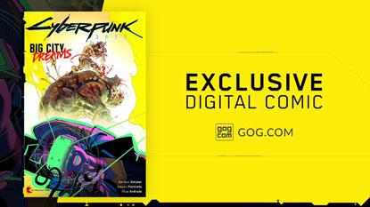 Cyberpunk 2077: exkluzív képregény jár a GOG-os vásárlóknak