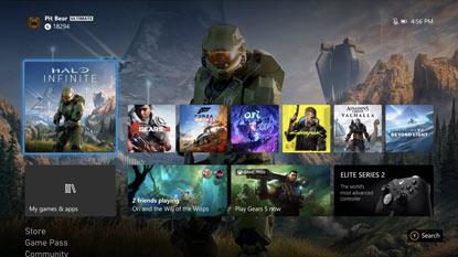 Állítólag csak 1080p-ben fut az Xbox Series X kezelőfelülete