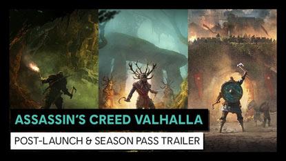 Assassin's Creed Valhalla: felfedték a megjelenés utáni tartalmakat