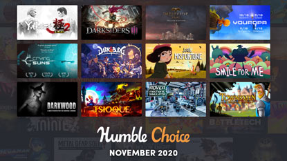 Darksiders 3, Yakuza Kiwami 2 és Crying Suns a novemberi Humble Choice-ban